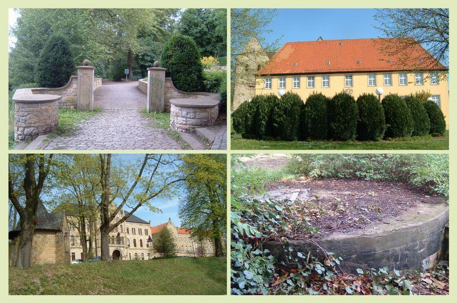 Gertrudenberg Osnabrück - Bürgerpark - Gertrudenberger Kloster - ehemalige Irrenanstalt - Gertrudenberger Höhlen