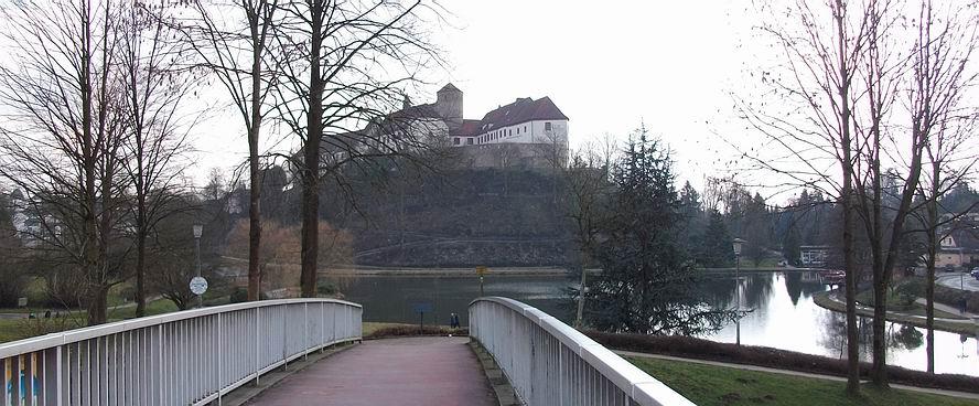 Iburg und Charlottensee in Bad Iburg