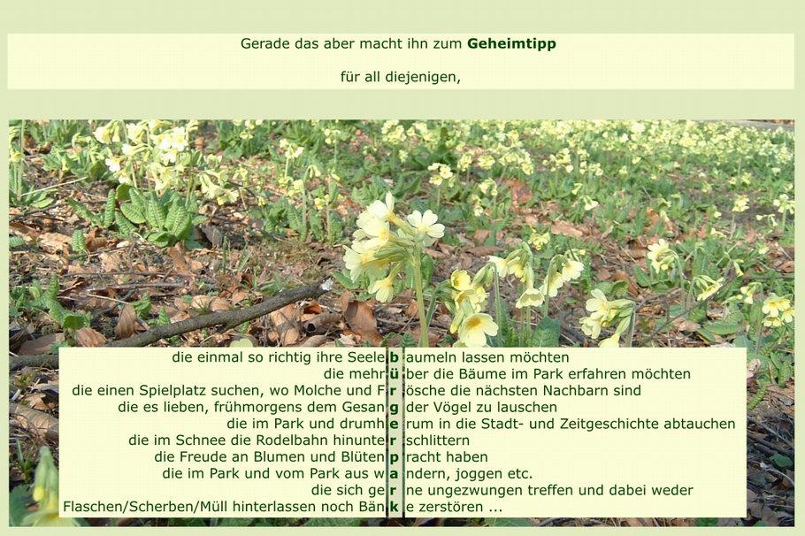 Geheimtipp Bürgerpark Osnabrück