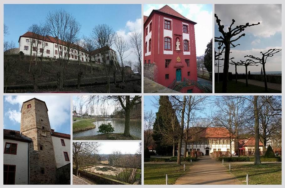 Bad Iburg - Schloss Iburg und Jagdschloss Freudenthal