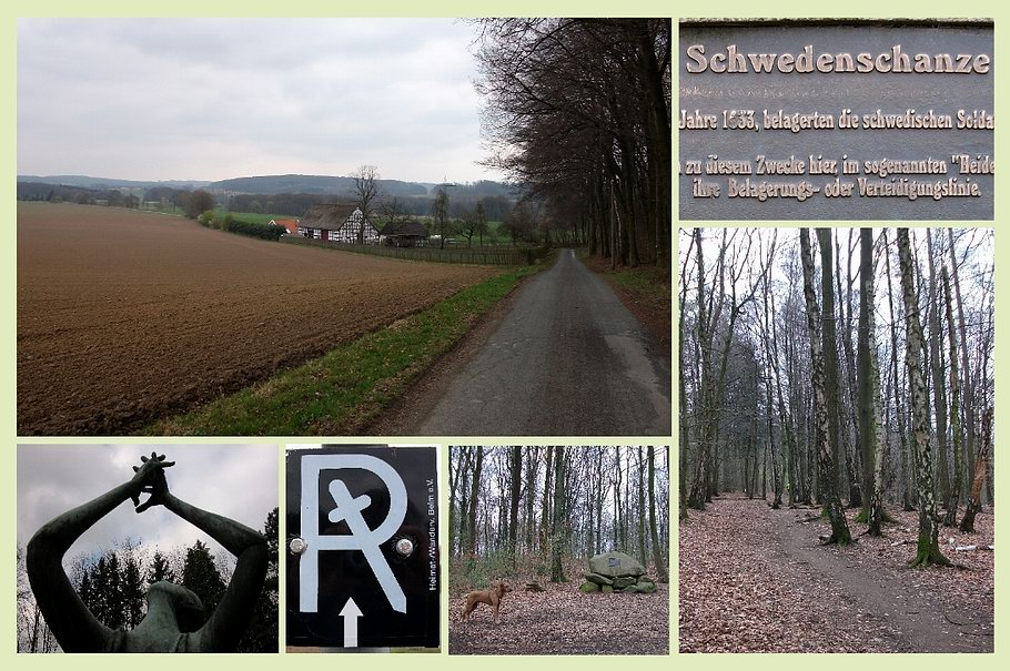 Belm - Richtstättenrundwanderweg - Schwedenschanze