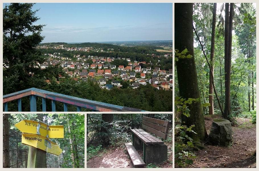 Georgsmarienhütte - Aussicht vom Varusturm
