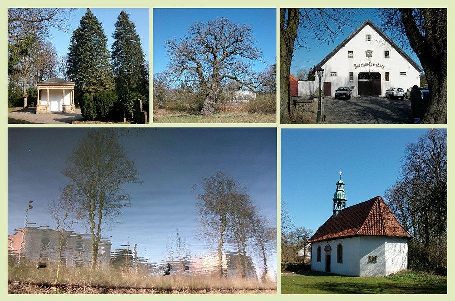 Hasefriedhof - HaseUferWeg - Eversburg (Alte Burgkapelle)