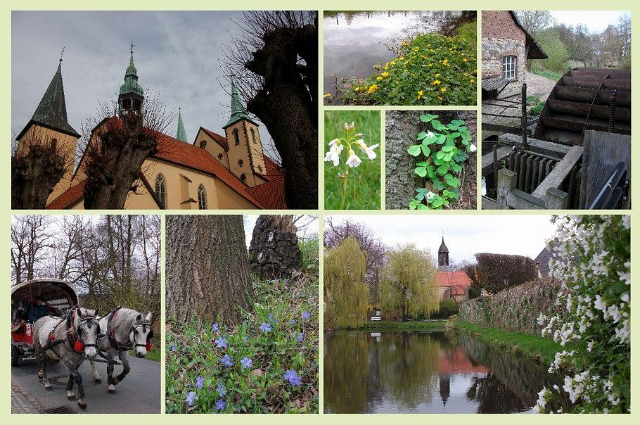 Wanderung: Wallfahrtsort Rulle entlang der Nette zum Kloster Nette