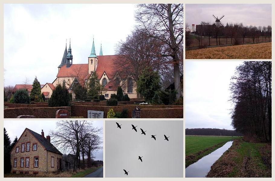 Ruller Wallfahrtskirche - Lechtinger Windmühle