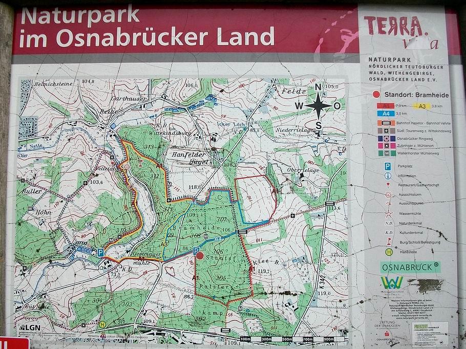 TERRA.vita Wanderparkplatz Bramheide / Nettetal