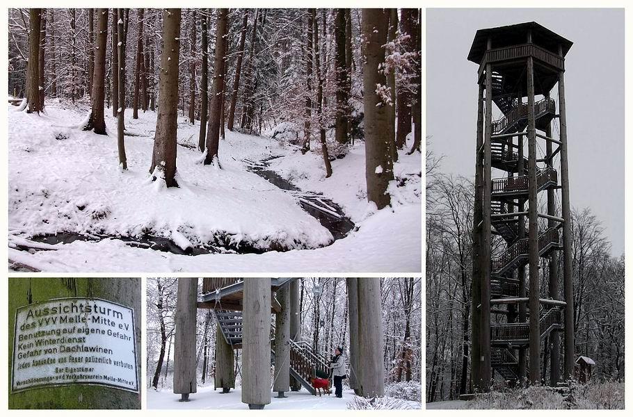 In den Meller Bergen: Zwickenbachtal - Aussichtsturm Ottoshöhe