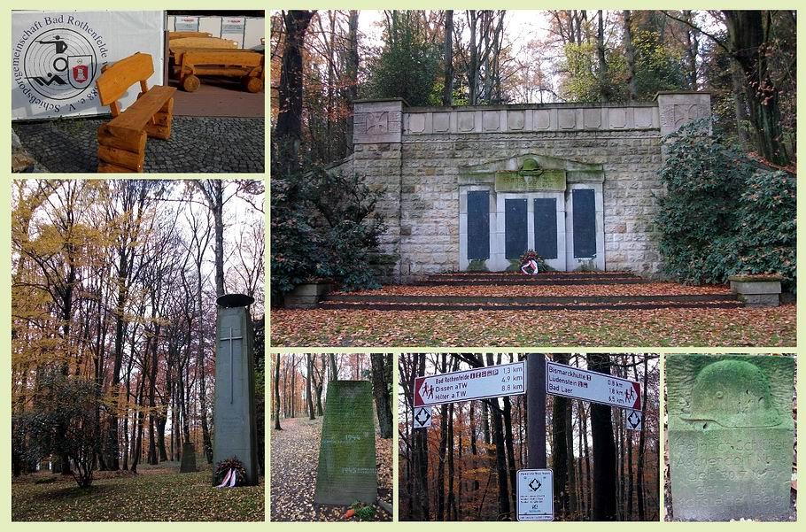 Bad Rothenfelde - Kriegerdenkmale 1. und 2. Weltkrieg