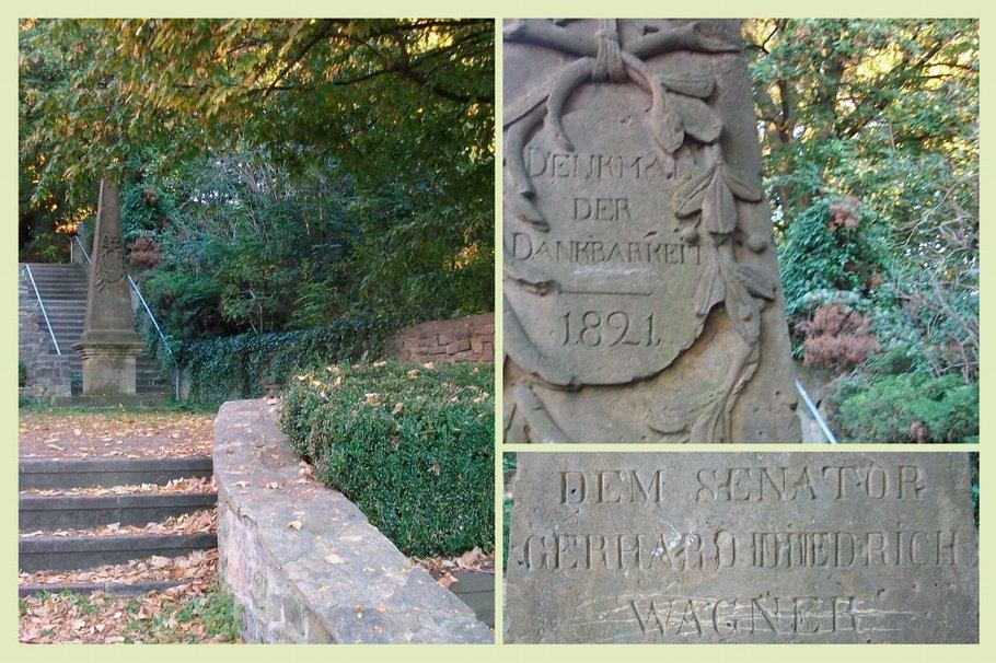 Denkmal der Dankbarkeit - Senator Wagner - Osnabrück