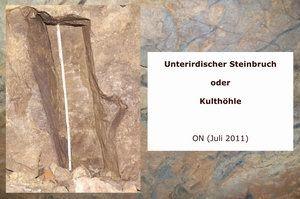 Gertrudenberger Höhlen - Unterirdischer Steinbruch oder Kulthöhle