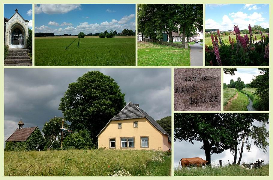 Georgsmarienhütte - Rundwanderung um Kloster Oesede - Haus Brinke mit Kapelle