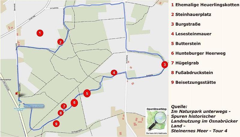 Belm - Steinernes Meer - Rundtour