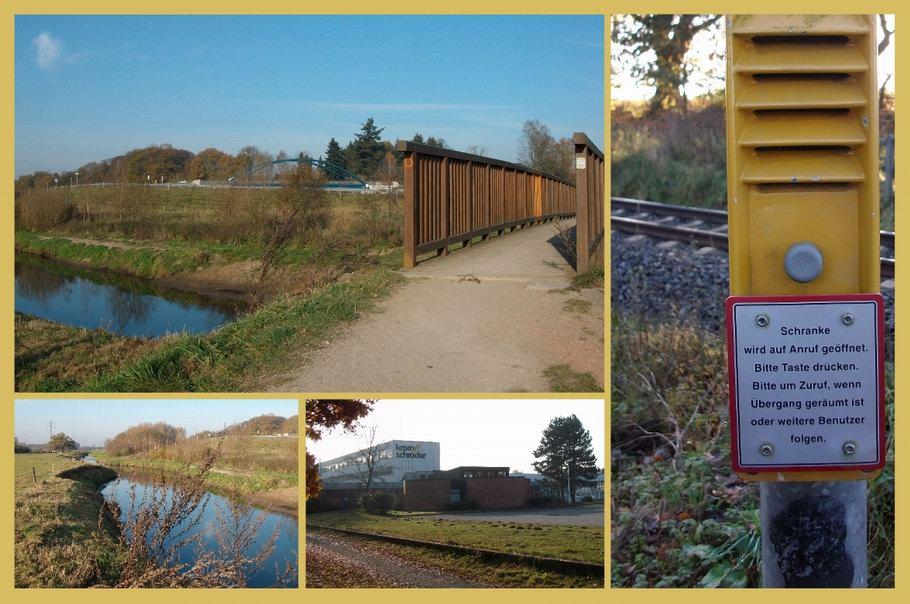 Osnabrück: Hase - Bahnübergang Atter - Kromschröder