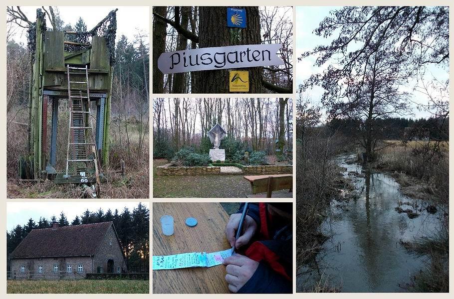 Piusgarten in Rulle und Umgebung