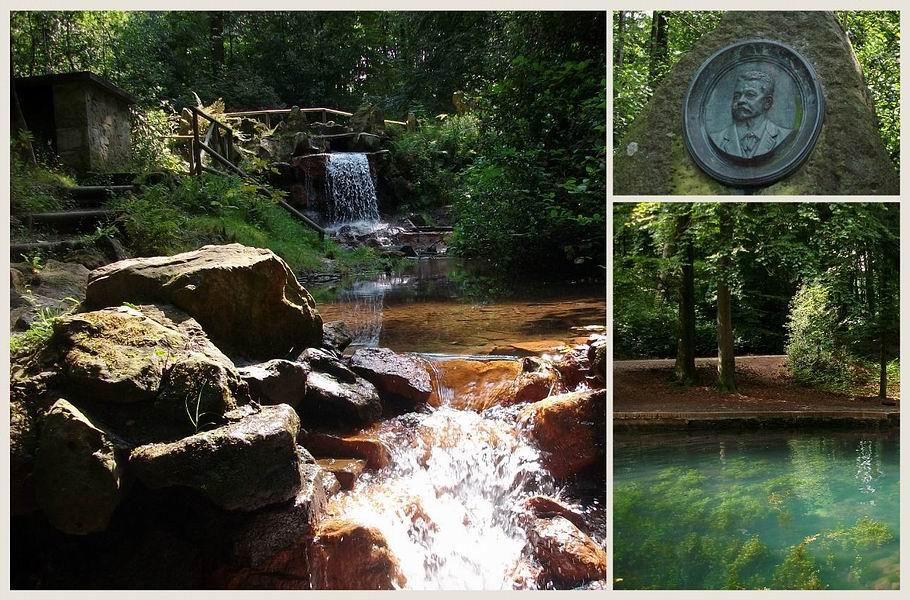 Georgsmarienhütte - Holsteteich - Wasserfall - Holstedenkmal
