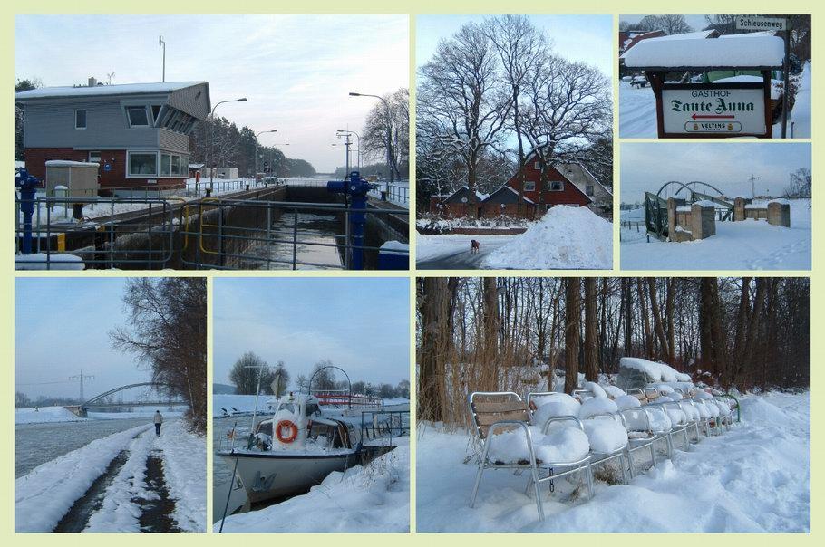 Wallenhorst/Hollage - Schleuse Stichkanal