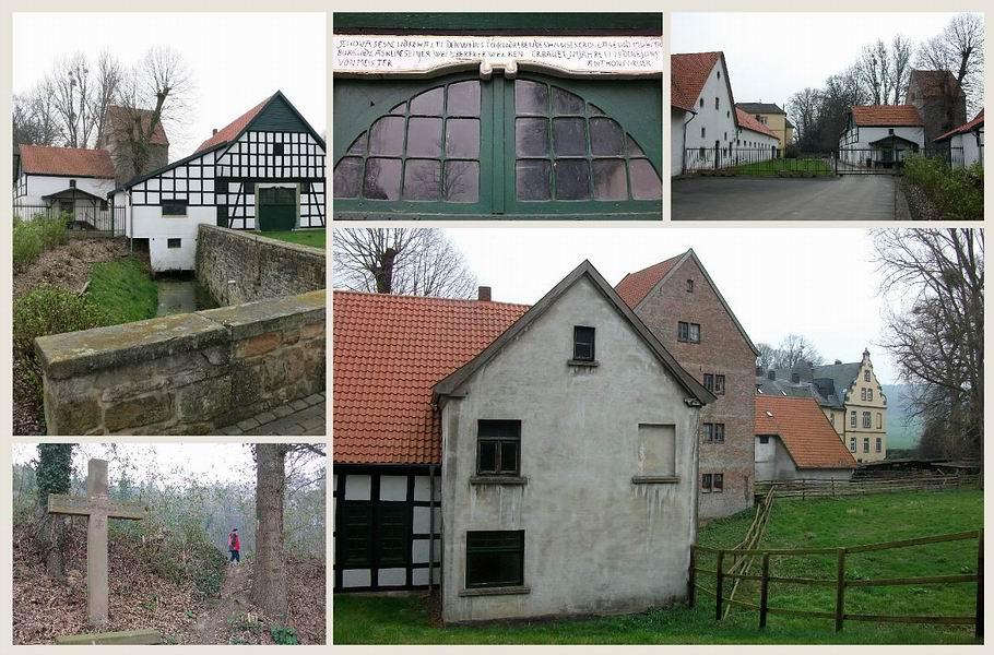 Bad Holzhausen - ehemaliges Rittergut Crollage
