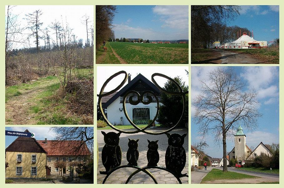 Belm - Richtstättenrundweg - Impressionen - ev. Christus-Kirche - Am Thie