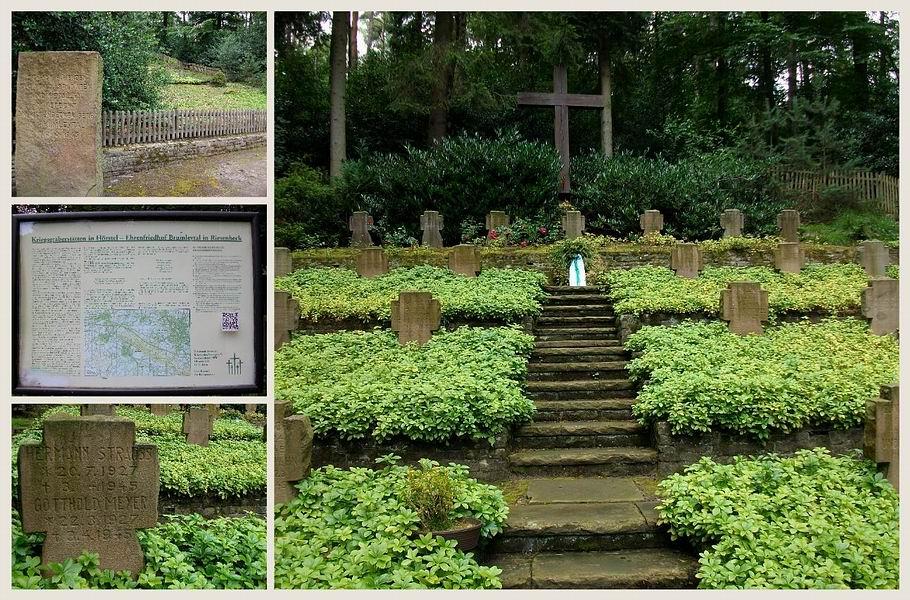 Kriegsgräberstätte in Hörstel - Ehrenfriedhof Brumleytal in Riesenbeck
