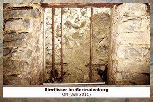 Gertrudenberger Höhlen - Bierfässer im Gertrudenberg