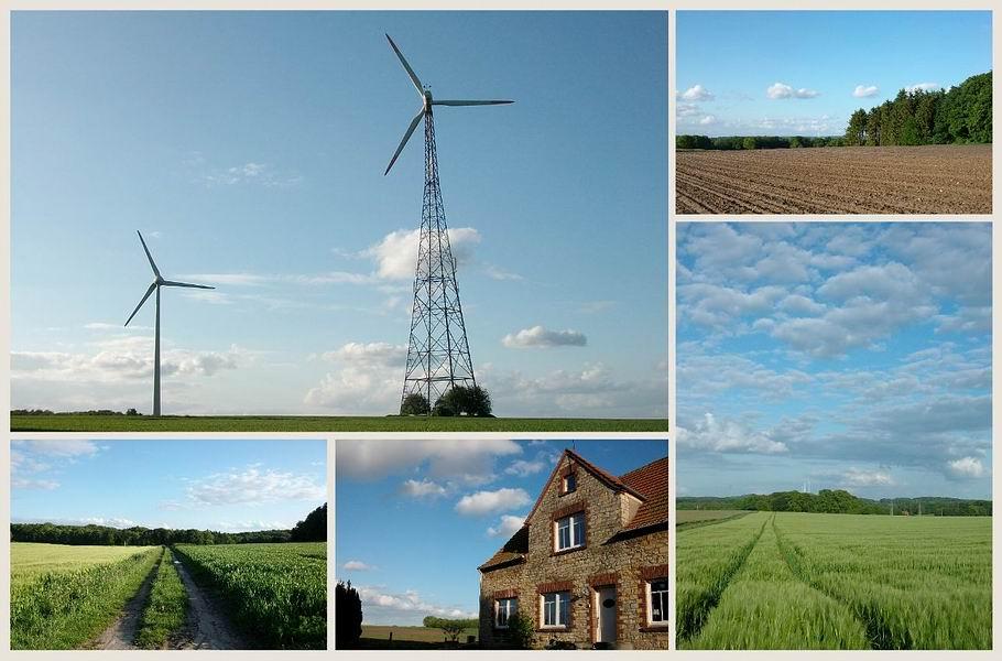 Halener Windkrafträder