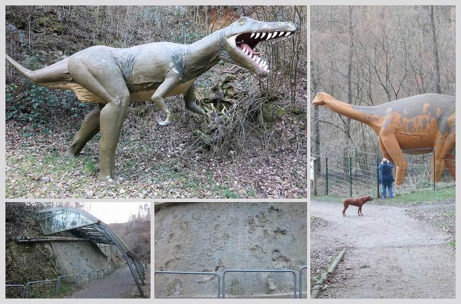 Dinosaurierspuren von Barkhausen