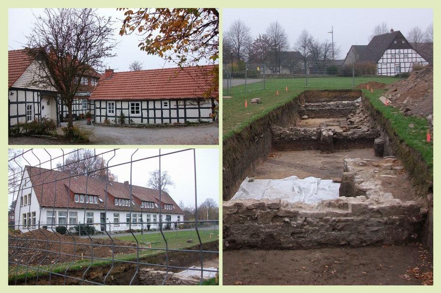 Bissendorf - Rathaus - Ausgrabungen von