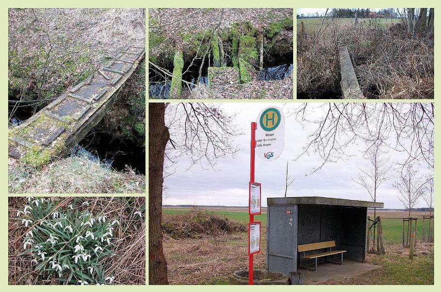 Venner Moor - Alte Grabenbrücken - Bushaltestelle