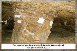 Gertrudenberger Höhlen - Germanisches Donar-Heiligtum in Osnabrück?