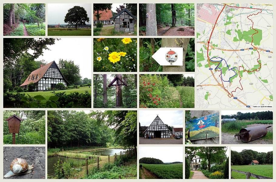 Osnabrück / Voxtrup - Bauernschaft Hickingen