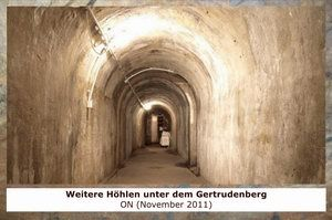 Gertrudenberger Höhlen - Weitere Höhlen unter dem Gertrudenberg