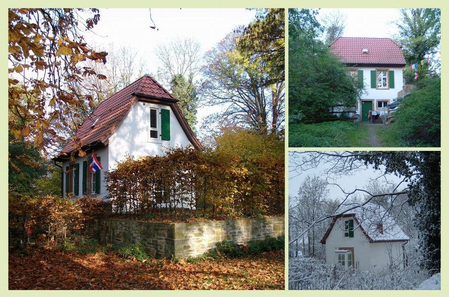 Bürgerpark Osnabrück Historisches Gartenhaus