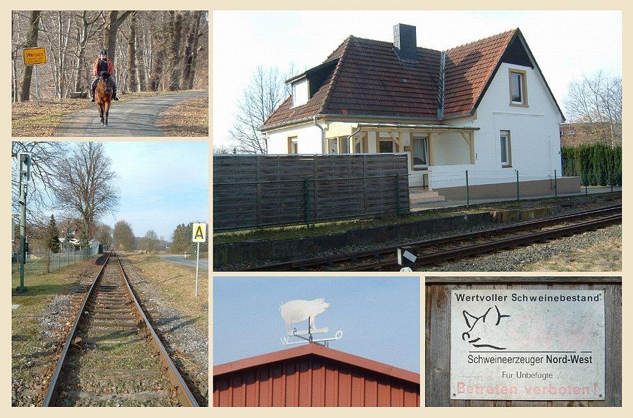 Lotte/Wersen - alter Bahnhof