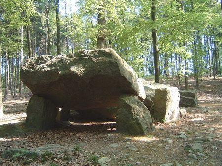 karlssteine piesberg osnabrueck großsteingrab karl der grosse