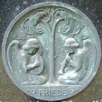 Bronzerelief