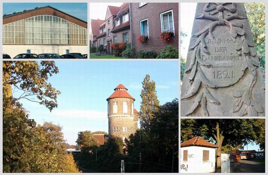 Gartlage - Senator-Wagner-Denkmal - alter Wasserturm beim Hauptbahnhof (Osnabrück)