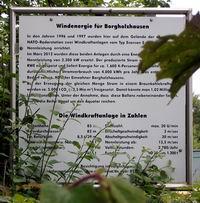 Infotafel am Hollandskopf - Borgholzhausen