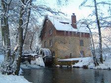Osnabrück/Haste - Knollmeyers Mühle (Wassermühle)