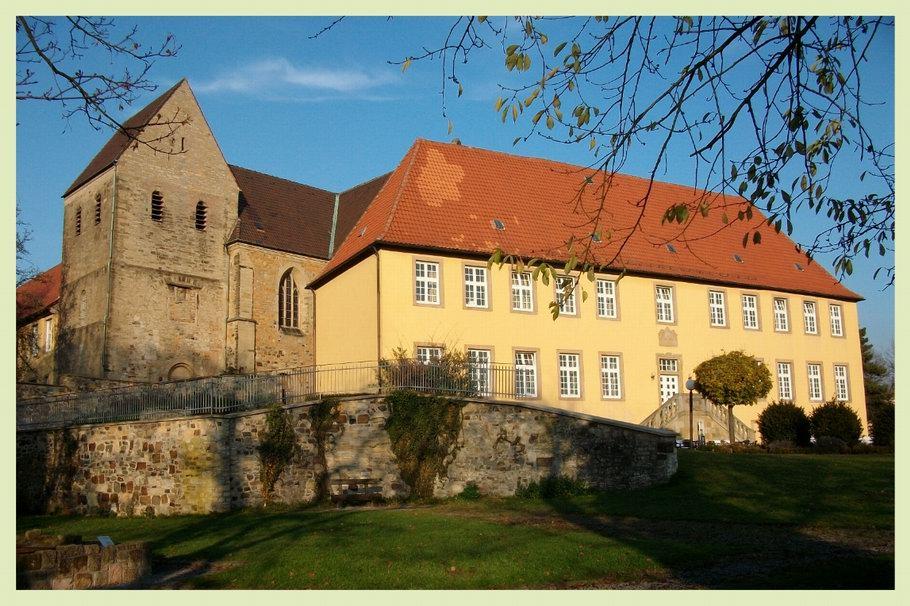 Kloster Gertrudenberg in Osnabrück, Gertrudenkirche, Äbtissinnenhaus