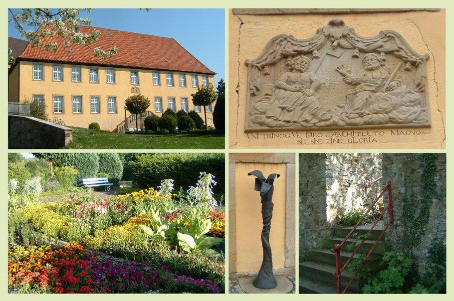 Äbtissinnenhaus Kloster Gertrudenberg Lilie von Frauke Wehberg