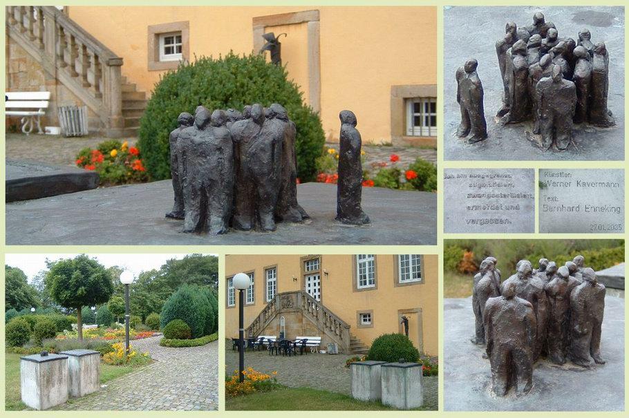 Kloster Gertrudenberg Osnabrück Denkmal für die Opfer der