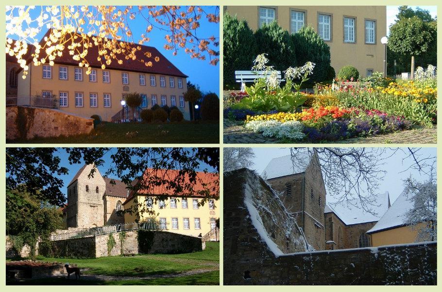Kloster Gertrudenberg Osnabrück im Verlauf der Jahreszeiten