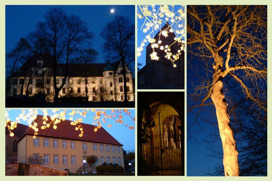 Osnabrück Gertrudenberg bei Nacht