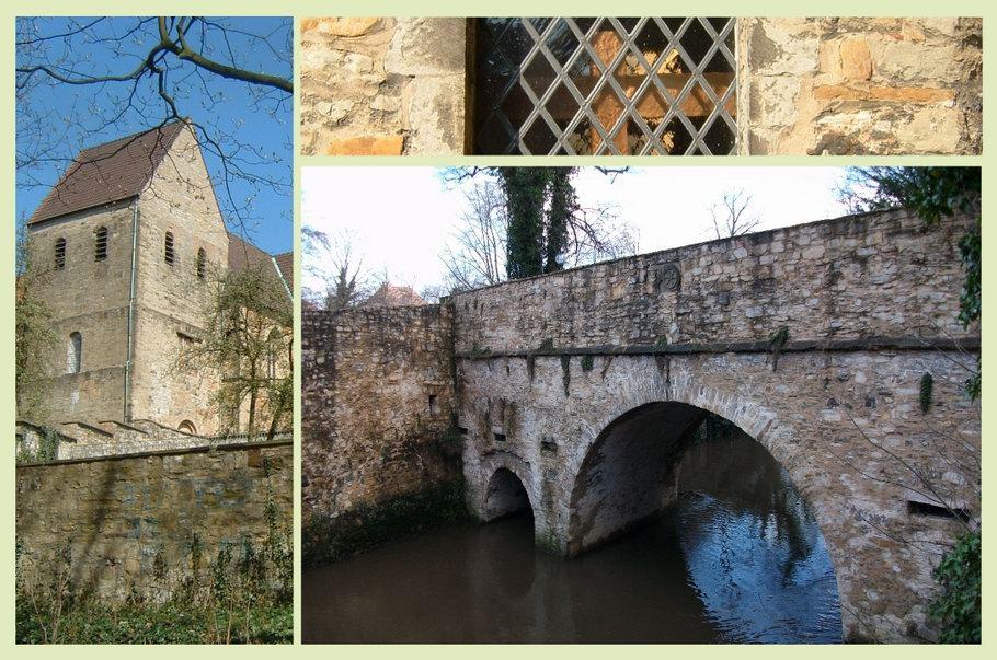 Besteht ein unterirdischer Gang zwischen dem Kloster Gertrudenberg und der hohen Brücke?