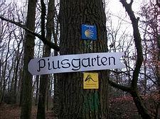 Wallenhorst/Rulle - Wegweiser zum Piusgarten