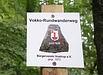 Vokko-Rundwanderweg - Wegezeichen