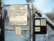 Wildpark Melle - Osttor