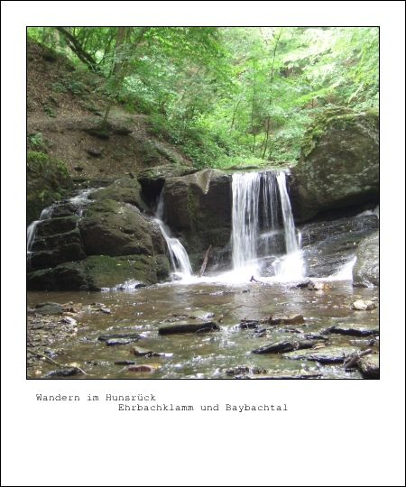 Hunsrück - Ehrbachklamm und Baybachtal