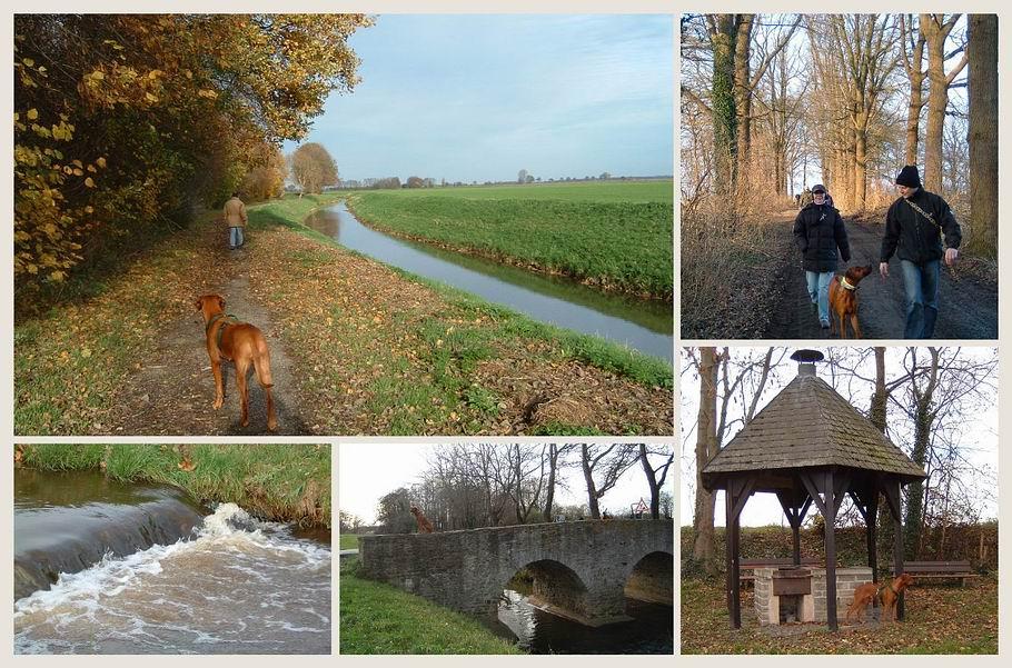 Hunteburg - Hunte - Römerbrücke - Freizeitwiese