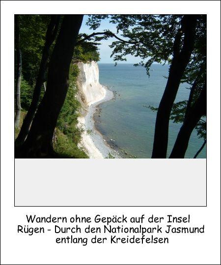 Rügen - Nationalpark Jasmund - Kreidefelsen